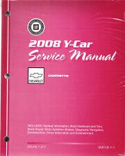 2008 Chevrolet Corvette Factory Service Repair Shop Manual, All Models 3 Vol Set