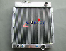 1964 1965 1966 64 65 66 FORD MUSTANG V8 289 302 WINDSOR ALUMINUM RADIATOR