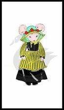 "Reproduction Country Mouse Sewing Pattern 18"" D7154"
