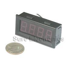 """3½ 0.56"""" 3 1/2 Digital Blue LED DC 0-200V Voltage Panel Meter Voltmeter"""