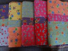 "05 New Kantha Quilts Throw Gudari Ralli blankets 90""x108"" Wholesale Lot"