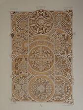 GRANDE Litho DÉCORATION ARCHITECTURE RUSSIE RUSSIA RUSSIAN 1860 NAPOLÉON III e