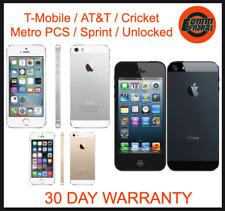 Apple iPhone 5 16GB / 32GB Smart Phone / Unlocked T-Mobile AT&T Metro *B GRADE*
