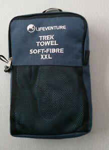 Lifeventure Trek Towel. Soft Fibre XXL.