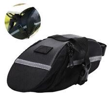 Reflective Bike Saddle Bag Cycling Seat Pouch Bicycle Tail Bags Rear Pan G2