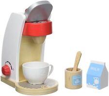 2er Set Hape Kaffeemaschine+Mixer Holz Küche Kinderküche Spielküche Kaufladen