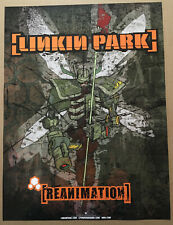 LINKIN PARK Ultra Rare 2001 PROMO POSTER for Reanimation CD MINT 18x24 USA