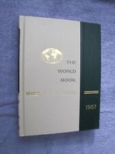 The World Book Year Book - 1967 - Reviewing Events Of 1966 Yearbook