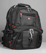 Back Pack Swiss 17 inch Laptop Backpack Notebook macbook Bag Travel Rucksack