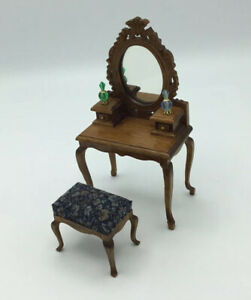 Dolls House Dressing Table And Stool