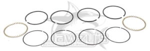 Hastings Moly Piston Rings Set 2M-6127-STD for 3.498in. Bore Pistons
