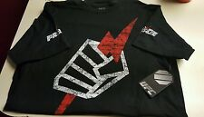 NEW Pride FC MMA Logo 2.0 Premium Edition Shirt Black UFC Officially Licensed!!