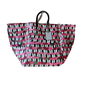 Marni Large Flower market Vase holder Bag Pink Prism 45 x 45 x 53 cm