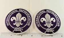 "HOT at the 2019 24th World Scout Jamboree: - (TWO) IR - 3"" Rounds"