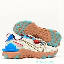 Nike React Vision Men's Running Training Gym White Blush Colorful CD4373-001 NIB