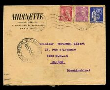 INDOCHINA 1939 INCOMING...MIDINETTE JOURNAL from FRANCE...CENSORED
