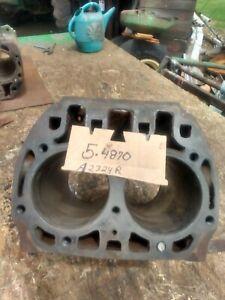 John Deere model A engine block A 2324 R, good condition, no cracks