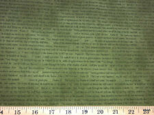 Christian Religious Bible Psalm 23 The Lord is my Shepherd Cotton Fabric w7/2