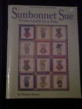 Sunbonnet Sue Visits Quilt in a Day How to Book