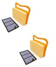 2 Air Filter Set For Stihl Ts410 Ts420 Ts480i Ts500i Cutquik Cutoff Chop Saw