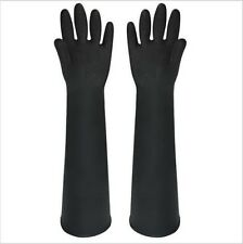 Thick Rubber Gloves 60CM Long Latex Industrial Gloves Acid Wear Casul Home Use