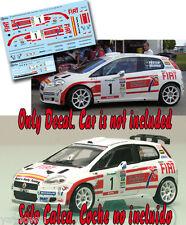 Decal 1:43 Miguel Fuster - FIAT PUNTO S2000  Rally Canarias El Corte Ingles 2007
