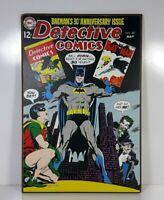 Batman 30th Anniversary Issue Detective Comics Wooden Wall Art Plaque