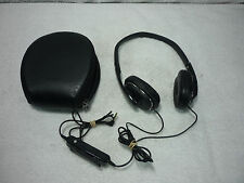 Used Sony MDR-NC40 Headphones Ultra Compact Folding Noise Canceling with Case