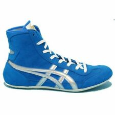 Asics Japan Wrestling shoes EX-EO original color Blue x Silver