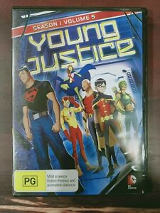 Young Justice: Season 1 - Volume 5 [Region 4] - DVD free shipping