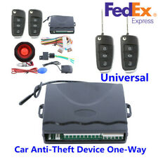 New ListingUs Ship Car Alarm System One-Way Anti-Theft Device Security Alert+Remote Control (Fits: Standard)