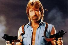 Framed Print - Chuck Norris Will Kill You (Picture Poster Man Cave Movie Art)