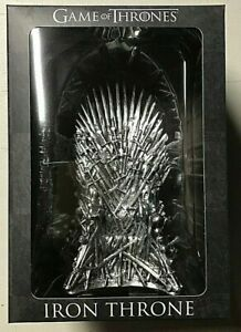 """Game of Thrones Iron Throne 7"""" Vinyl Replica by Culturefly - NEW"""