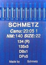 96x1 DBX1 9//65 Rundkolben* Universal 10 Nähmaschinen-Nadeln