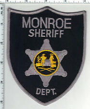 Monroe Sheriff Dept. (West Virginia) 2nd Issue Uniform Take-Off Shoulder Patch