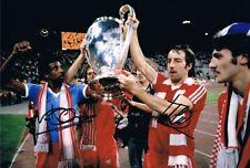Signed Frank Clark Viv Anderson Nottingham Forest photo European Cup Winner 1979