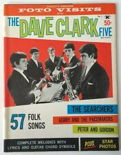 Songster Magazine, Foto Visits With  The Dave Clark 5   #1,  1964
