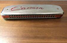 Vintage Used Carmen Polish Harmonica