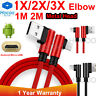 Braided Micro USB Fast Charging Cable Cord Sync For Android Cell Phone Samsung