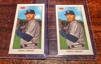 (2) LOT MARIANO RIVERA TOPPS 2020 T206 SP SOVEREIGN & SWEET CAPORAL! #YANKEES