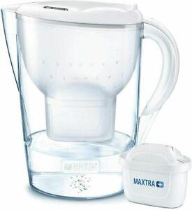 BRITA Marella XL MAXTRA+ Plus 3.5L White Water Filter Table Jug 1 Cartridge