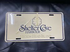 Shelter Cove Harbour Hilton Head Front Booster  License Plate