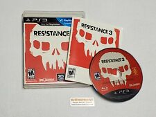 Resistance 3 - Complete PlayStation 3  PS3 Game