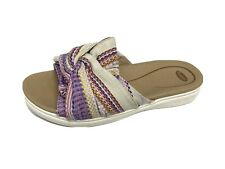 Dr school shoes willow women's sandals slide fabric upper size 7.5M