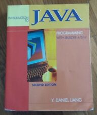 Introduction To Java Programming With JBuilder 4/5/6 Second Edition No CD