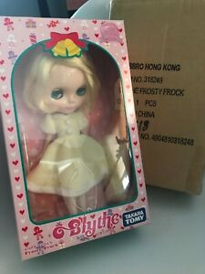 Original Takara Hasbro Neo Blythe Doll Frosty Frock SBL Limited Collectible