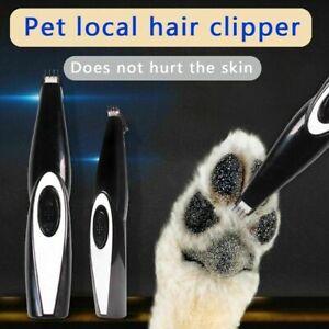 USB Electric Pet Cat Dog Hair Trimmer Pet Fur Clipper Shaver Pet Grooming Tools