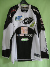 Maillot Motocross Lac Blanc1200 Moto Kenny Racing cross Vintage Jersey - L