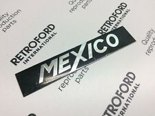 Clásico Ford Escort MK1 México nueva Insignia Decal/Papel de aluminio.
