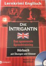 CD Die Intrigantin (2009) Das spannende Sprachtraining Hörbuch mit Übungen Neu!!